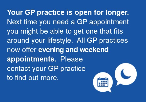 GP open for longer