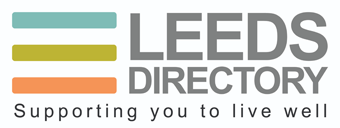 Leeds Directory logo - supporting you to live well